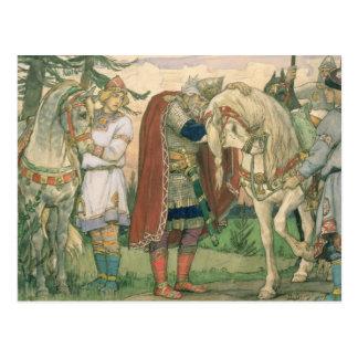 The Song of Prince Oleg , 1899 Postcard