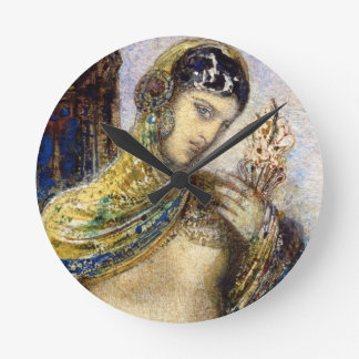 The Song of Songs (detail of 83718) Round Clock