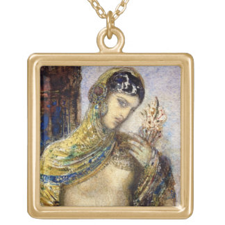 The Song of Songs (detail of 83718) Square Pendant Necklace