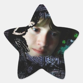 The Song of Taliesin Star Sticker