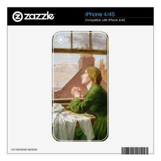 The Song of the Shirt, or For Only One Short Hour, iPhone 4 Skin