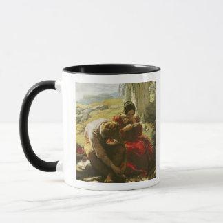 The Sonnet, 1839 (oil on panel) Mug