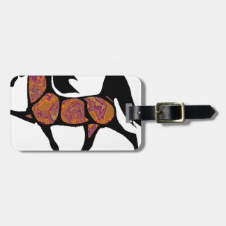 THE SONORAN HORSE LUGGAGE TAG