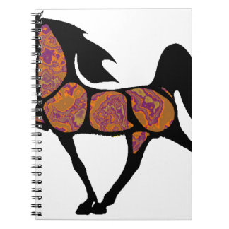 THE SONORAN HORSE SPIRAL NOTEBOOK