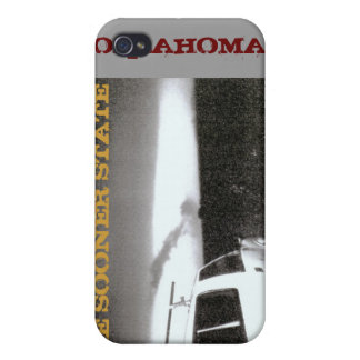 THE SOONER STATE TORNADO OKLAHOMA 2004 iPhone 4/4S COVER