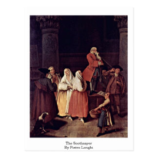 The Soothsayer By Pietro Longhi Postcard