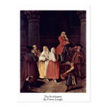 The Soothsayer By Pietro Longhi Postcards