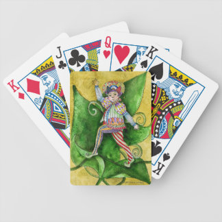 The Sophisticated Elf playing cards