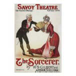 The SorcererRevival.~ Savoy Theatre London 1884 Poster