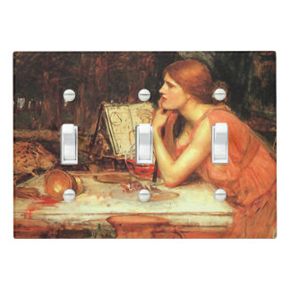 """""""The Sorceress"""" by Waterhouse Light Switch Cover"""