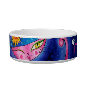 The Sorceress Kitty Bowl