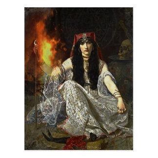 The Sorceress Postcard
