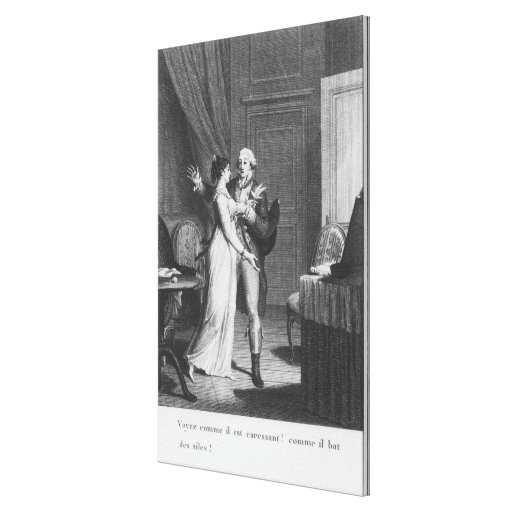 The Sorrows of Werther' Canvas Print