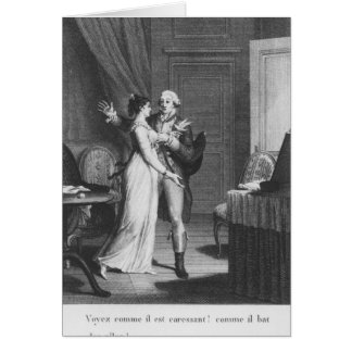 The Sorrows of Werther' Card