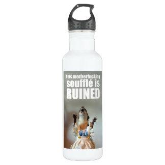 The soufflé is ruined! 24oz water bottle