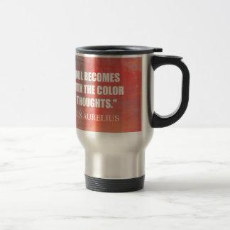 The Soul Becomes Dyed Travel Mug