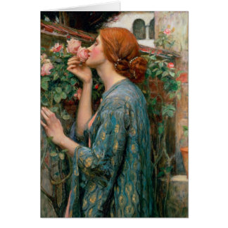 The Soul of the Rose, 1908 Greeting Card