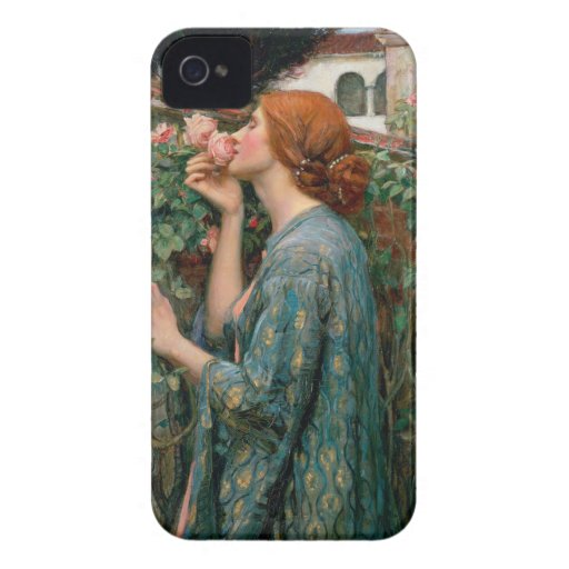 The Soul of the Rose - John William Waterhouse iPhone 4 Covers
