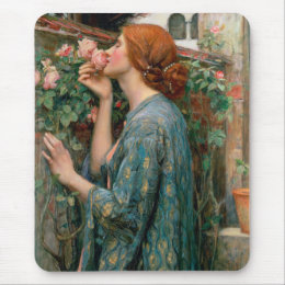 The Soul of the Rose - John William Waterhouse Mouse Pad