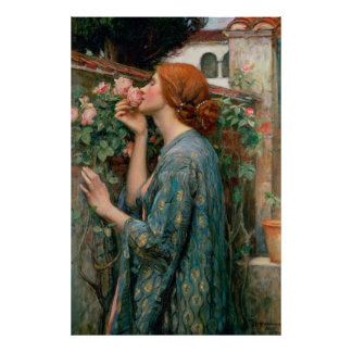 The Soul of the Rose - John William Waterhouse Poster