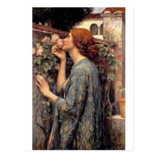 the_soul_of_the_rose_-_waterhouse postcard