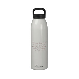 The Soul Reaching for Infinity Reusable Water Bottle
