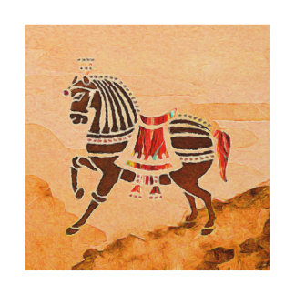The Souls of the speed   |   Horse Wood Wall Art