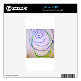 The Sound of A Visual Interior iPhone 4 Skin