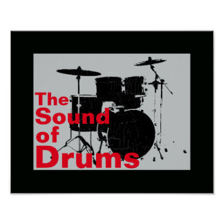 the sound of drums poster