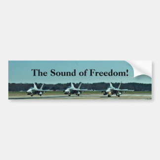 The Sound of Freedom! Bumper Stickers