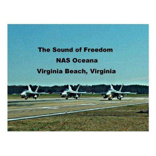 The Sound of Freedom, NAS Oceana Postcard