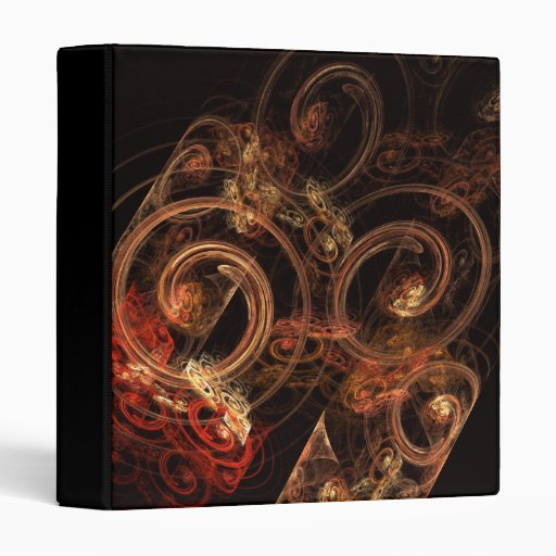 The Sound of Music Abstract Art Binder