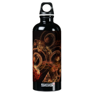 The Sound of Music Abstract Art Bottle
