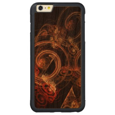The Sound of Music Abstract Art Carved® Cherry iPhone 6 Plus Bumper