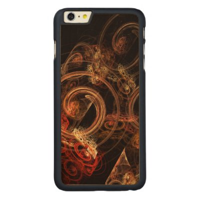 The Sound of Music Abstract Art Carved® Maple iPhone 6 Plus Slim Case