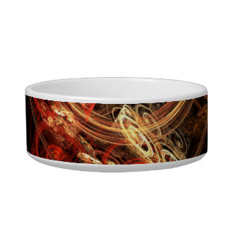 The Sound of Music Abstract Art Cat Bowl