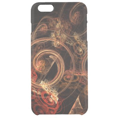 The Sound of Music Abstract Art Clear iPhone 6 Plus Case