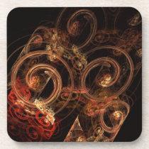 pattern, cool, abstract, art, fine art, artistic, modern, gift, coaster, [[missing key: type_fuji_coaste]] com design gráfico personalizado