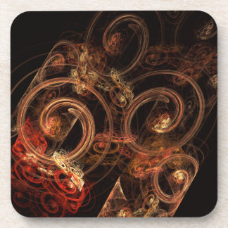 The Sound of Music Abstract Art Cork Coaster