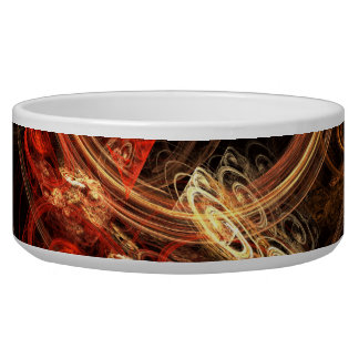 The Sound of Music Abstract Art Dog Bowl