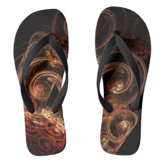 The Sound of Music Abstract Art Flip Flops