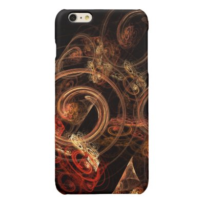 The Sound of Music Abstract Art Glossy iPhone 6 Plus Case