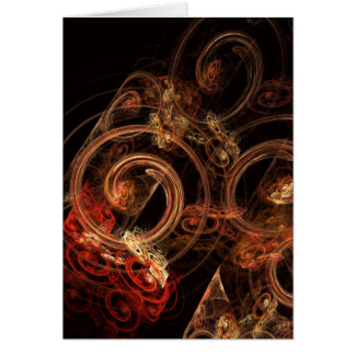The Sound of Music Abstract Art Greeting Card