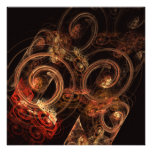 The Sound of Music Abstract Art Invitation