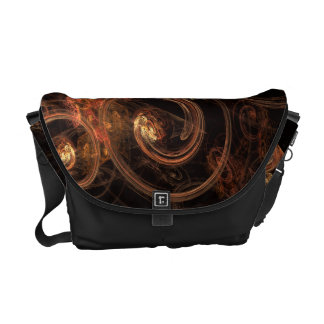 The Sound of Music Abstract Art Messenger Bag