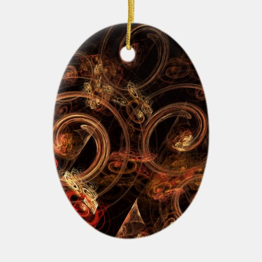 The Sound Of Music Abstract Art Oval Ornament Zazzle
