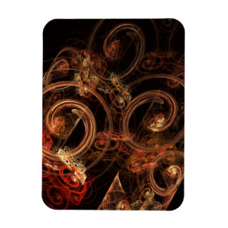 The Sound of Music Abstract Art Premium Magnet