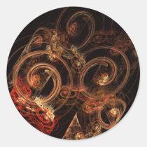 sound, music, abstract, art, round, sticker, Sticker with custom graphic design