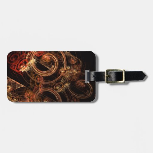 The Sound of Music Abstract Art Tags For Luggage