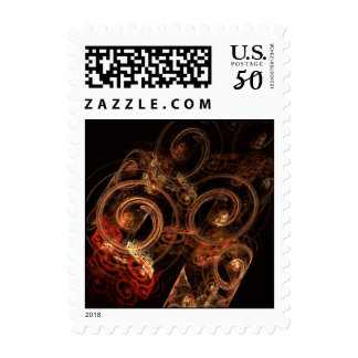The Sound of Music Abstract Postage Stamp